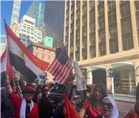 فيديو| ثناء يوسف من نيويورك: الجالية المصرية حرصت على التواجد بنيويورك لدعم الرئيس السيسي