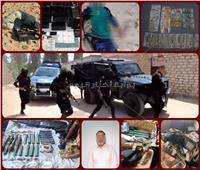 فيديو جراف| «سبتمبر الأسود» 6 ضربات أمنية فوق رؤوس الإرهابيين