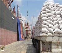 وصول شحنة قمح روسى لميناء سفاجا