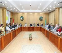 محافظ المنوفية يبحث الموقف التنفيذي لمشروعات «العربية للتصنيع»