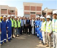محافـظ المنوفية ونائب رئيس «العربية للتصنيع» يتفقدان المشروعات الخدمية بالباجور