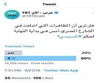 «صفعة مصرية جديدة».. «TRT» تنضم لشقيقتيها «مكملين» و«الشرق» في «الفشل»