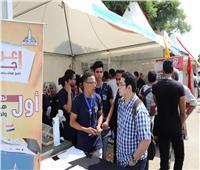 إقبال كبير على مهرجان استقبال الطلاب الجدد والقدامى بجامعة عين شمس
