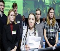 غريتا تونبرج.. طفلة سويدية تحمل هموم العالم لمكافحة تغير المناخ