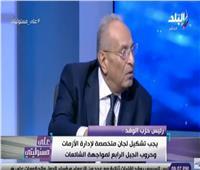 أبوشقة: لن نسمح بالمساس بالرئيس والجيش والشرطة
