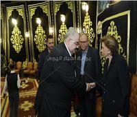 صور| الرئيس السيسي يوفد مندوبا عنه للعزاء في الدكتور علي رحمي