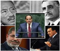 فيديو| من «ناصر» إلى «السيسي».. هموم فلسطين وإفريقيا في خطابات 5 رؤساء بالأمم المتحدة