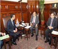 وزير الزراعة يبحث مع السفير المصري بجنوب السودان سبل التعاون