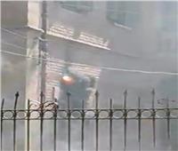 فيديو.. إخلاء مدرسة من الطلاب بقنا بعد حريق نشب بسبب ماس كهربائي