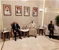 مصر والإمارات يبحثان تعزيز العلاقات المشتركة