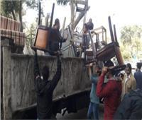 حملات لإزالة التعديات ورفع الإشغالات بمدينة 6 أكتوبر