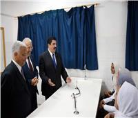 محافظ القليوبية يتفقد المدارسويفتتح مدرسة أحمد زويل الرسمية