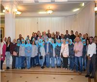 صور| السفير المصري بصربيا يستقبل «أوركسترا النور والأمل»