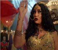 هند صبري تحتفل بـ«الفيل الأزرق» على طريقتها الخاصة
