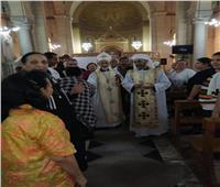 مطرانية الإسماعلية للأقباط الكاثوليك تحتفل باليوبيل الفضي للأنبا مكاريوس