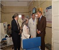 محافظ أسيوط يطمئن على الخدمات الطبية بمستشفى «أبنوب المركزي»