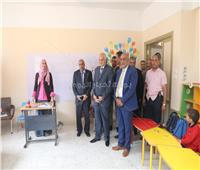محافظ الجيزة يفتتح مدرسة «أمهات المؤمنين» بالهرم