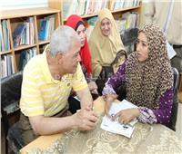 محافظ المنوفية يستمع لشكاوي المواطنين بمدرسة «زاوية رازين» الإعدادية