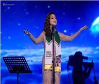 صور| أنغام تشارك الجمهور السعودي الاحتفال بالعيد الوطني السعودي الـ89