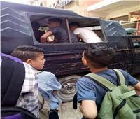 ضبط 5 عاطلين بحوزتهم أسلحة بيضاء أمام مدرسة بعين شمس