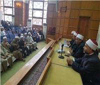 صور| تفاصيل اجتماع قيادات وزارة الأوقاف بالأئمة