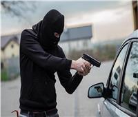 سطو مسلح على فتاة وسائق بطريق مسطرد