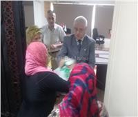 توزيع 50 حقيبة مساعدات إنسانية للفئات الأكثر احتياجًا بالبساتين