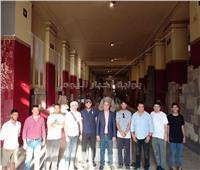 صور.. وفد شبابي سعودي يزور ميدان التحرير والمتحف المصري