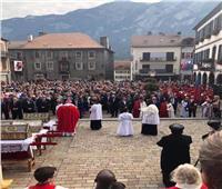 الكنيسة الأرثوذكسية تشارك في احتفالات عيد القديس موريس بسويسرا