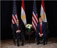السيسي: العالم لن يستقر بوجود الإسلام السياسي.. وترامب: «مصر لديها قائد عظيم»