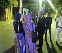 صور| قيادات جامعة الأزهر تتفقد المدينة الجامعية للاطمئنان على الطالبات