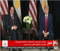 فيديو| دونالد ترامب: سعيد بصور زوجتي أمام الأهرامات