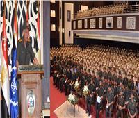 وزير الدفاع يلتقي طلبة وأعضاء هيئة التدريس بالمعهد الفني للقوات المسلحة