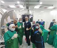التأمين الصحي الشامل ينتهي من قوائم انتظار القسطرة القلبية في بورسعيد
