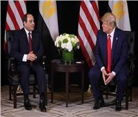 ترامب: «السيسي» قائد عظيم قضى على الفوضى.. ولست قلقا من مظاهرات مصر