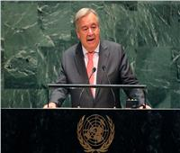 جوتيريس: حان وقت إنهاء الأزمة السورية.. ويجب وقف تهديد الصواريخ الباليستية
