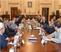 عبد العال يلتقى سفيري الصين وبيلاروسيا