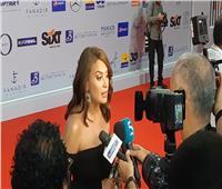 صور وفيديو| هند صبري تصل عرض فيلمها «حلم نورا» بمهرجان الجونة