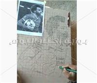 شاهد|«بركات»..فرعون مصري عشِق فن النحت