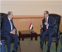 السيسي لـ«عون»: نعتز بخصوصية العلاقات الوطيدة بين مصر ولبنان على المستويين الرسمي والشعبي