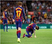 صور  ميسي «العائد» يسقط مجددا ويصيب جماهير برشلونة بالقلق