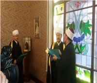 رئيس الإدارة الدينية لعموم مسلمي روسيا يشيد بجهود الأوقاف في تجديد الخطاب الديني