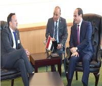 رئيس وزراء أيرلندا يؤكد حرص بلاده على تعزيز العلاقات مع مصر