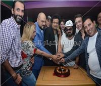 صور  نجوم الفن يحتفلون بعيد ميلاد سيد شعراوي