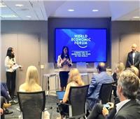 وزيرة السياحة تشارك في جلسة منتدى الاقتصاد العالمي بنيويورك