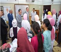 رئيس جامعة سوهاج يتابع انتظام العملية التعليمية بالحرم الجامعي الجديد