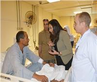 نائب محافظ البحيرة تتفقد مستشفى وادي النطرون المركزي