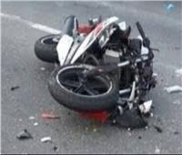 مصرع وإصابة 4 أشخاص فى انقلاب دراجة بخارية برشيد