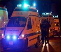 مصرع وإصابة 7 في حادث تصادم في بني سويف