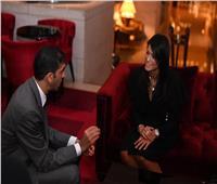 رانيا المشاط تبحث مع وزير البيئة الإماراتى التعاون في مجال السياحة المستدامة